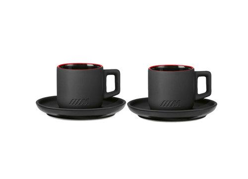 Espresso kop & schotel set keramisch BMW M collectie 2020