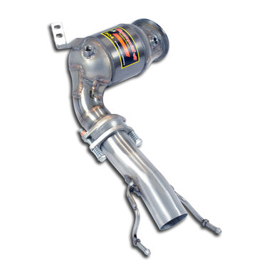 BMW 1 Serie F40 turbo downpipe kit en katalysator