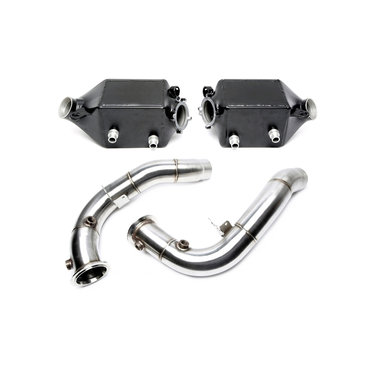 TA Technix upgrade kit intercooler en downpipe BMW 5 serie F10 M5 6 serie F06 F12 F13 M6