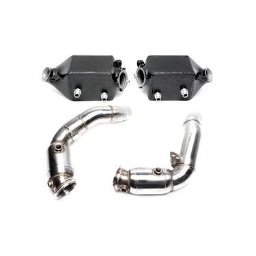 TA Technix upgrade kit intercooler en downpipe met katalysatoren BMW 5 serie F10 M5 6 serie F06 F12 F13 M6