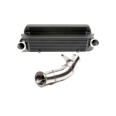 TA Technix upgrade kit intercooler en downpipe BMW 1, 2, 3 en 4 serie met N55 motor