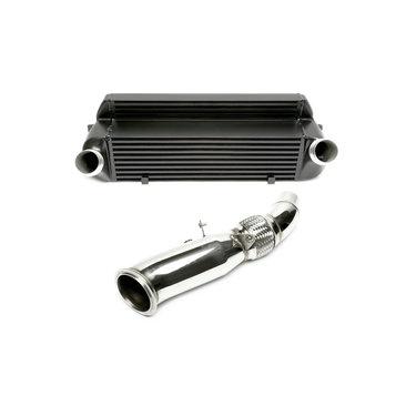TA Technix upgrade kit intercooler en downpipe BMW 1, 2, 3 en 4 serie met N20 motor
