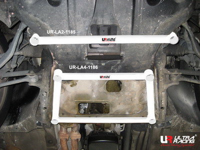 Ultra Racing BMW X3 E83 2.5 2 punts lower front tiebar