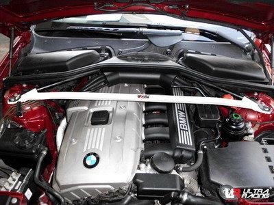 Ultra Racing BMW 6 Serie E63 front upper veerpootbrug