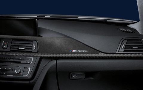 BMW 3 serie F30, F31, F34 en F36 GT M Performance interieurlijsten origineel BMW