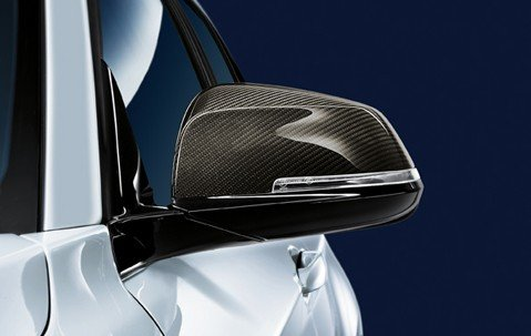 BMW F20 F21 F22 F23 F87 F30 F31 F34 F32 F33 F36 M Performance spiegelkappen carbon origineel BMW