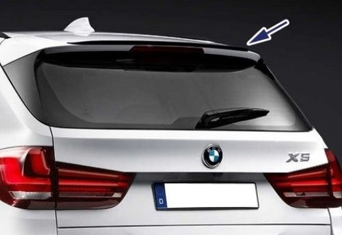 BMW X5 F15 M Performance spoiler hoogglans zwart origineel BMW