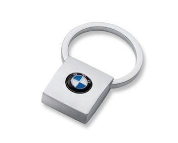 Sleutelhanger BMW vierkant origineel BMW