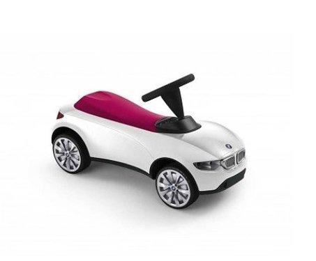 Baby Racer III wit met roze origineel BMW