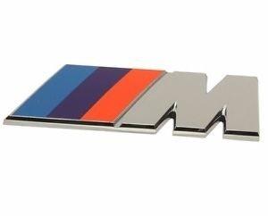 M logo voor de achterklep origineel BMW