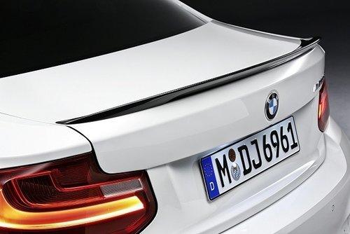 M Performance carbon achterspoiler BMW 2 serie F22 origineel BMW