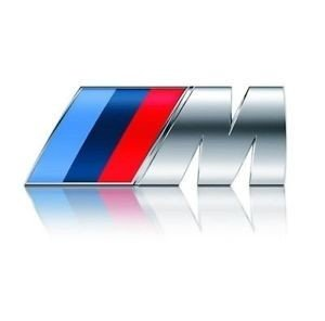 BMW M logo zijscherm origineel BMW
