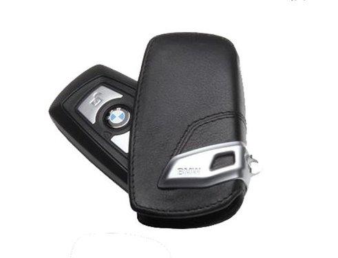 BMW sleutel etui leder origineel BMW F20, F21, F30, F31, F34 GT, F32, F33, F36, F07 GT, F10, F11, F06 GC, F12, F13, F01, F02, F25 en F26
