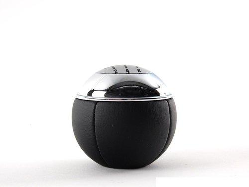 Pookknop Mini R50 R52 leder origineel Mini