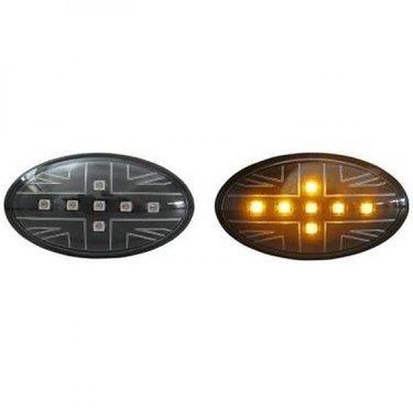 Black Jack Led zijknipperlichten Mini R50 R52 R53