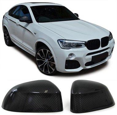 Carbon spiegelkap afdekkingen BMW X4 F26 X5 F15 X6 F16