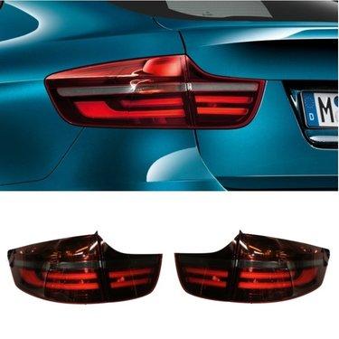 BMW X6 E71 blackline achterlichten origineel BMW