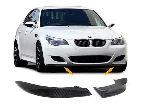 Carbon splitters BMW 5 serie E60 en E61 met M pakket