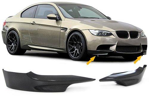 BMW 3 serie E92 en E93 carbon splitters