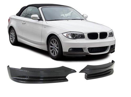 Carbon splitters BMW 1 serie E82 E88 met M pakket