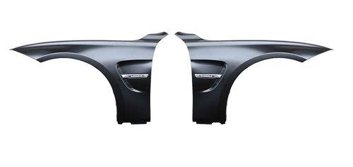 BMW 3 serie F30 en F31 EVO look zijschermen model 2012 - 2019