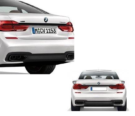 BMW 7 serie G11 en G12 M Performance sierlijst kofferklep origineel BMW