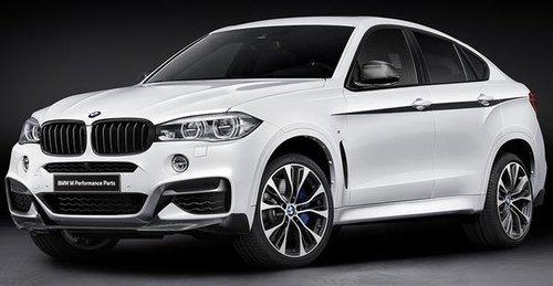 BMW X6 F16 M Performance frontspoiler carbon origineel BMW