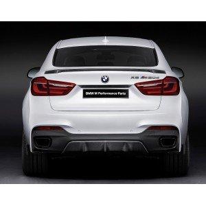 BMW X6 F16 M Performance kofferspoiler carbon origineel BMW
