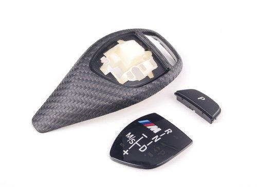 BMW M Performance F20 F21 F22 F30 F31 F34 F32 F33 F36 F25 F26 carbon afdekking sport automaat pook origineel BMW