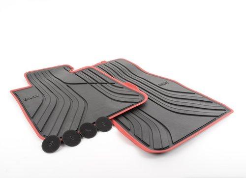 Rubber matten Sportline BMW 1 serie F20 F21 en 2 serie F22 F23 origineel BMW