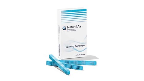 Natural Air refill-kit Sparkling Raindrops origineel BMW