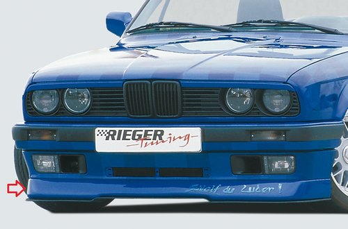 Rieger front lip BMW 3 serie E30 type 2