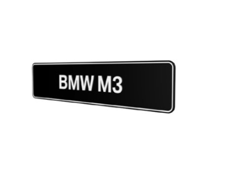 BMW M3 showroom platen E30 E36 E46 E90 E91 E92 E93 F30 F31 origineel BMW