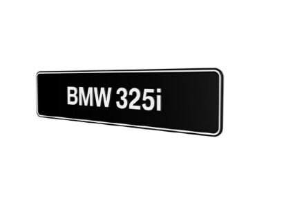 BMW 325i E30 E36 E46 E90 E91 E92 E93 showroom platen origineel BMW