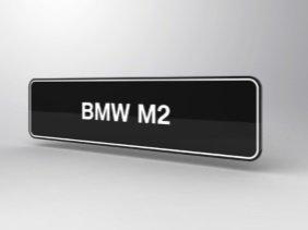 BMW M2 showroom platen F22 F23 origineel BMW