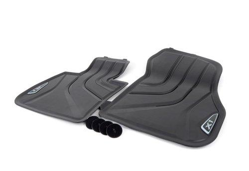 BMW X1 F48 rubberen matten origineel BMW
