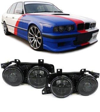 BMW 5 serie E34 en 7 serie E32 smoke koplampen