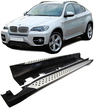 BMW X6 E71 aluminium treeplanken origineel BMW