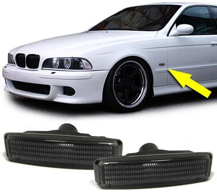 BMW 5 serie E39 smoke zijknipperlichten model 1995 - 2003