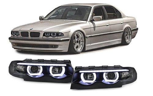 BMW 7 serie E38 halogeen angel eyes koplampen model 1994 - 2001