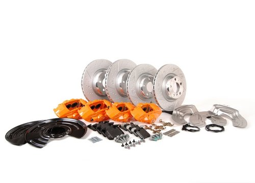 M Performance Big Brake kit F20 F21 F22 F23 F30 F31 F32 met oranje remklauwen origineel BMW