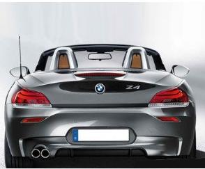 BMW M Performance diffusor BMW Z4 E89 uitlaat links origineel BMW
