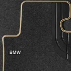 BMW 3 serie F30 F31 F34 GT F80 M3 textiel voetmatten luxury line origineel BMW