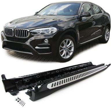 BMW X6 F16 aluminium treeplanken