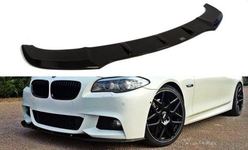 BMW 5 serie F10 en F11 frontsplitter M pakket model 2010 - 2017 versie 1