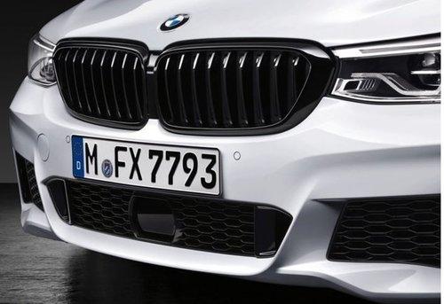 M Performance nieren BMW 6 serie G32 hoogglans zwart origineel BMW