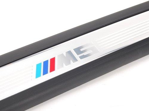 BMW 5 serie E60 en E61 M5 instaplijsten origineel BMW
