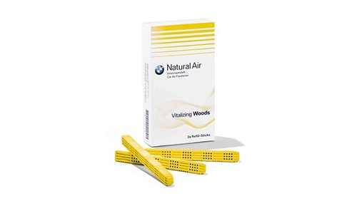 Natural Air refill-kit Vitalizing Woods origineel BMW