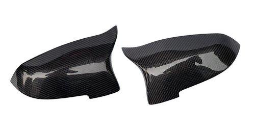 BMW 5 serie F07 LCI, F10 LCI en F11 LCI evo look carbon spiegelkappen