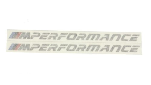 BMW M Performance stickers sideskirts origineel BMW